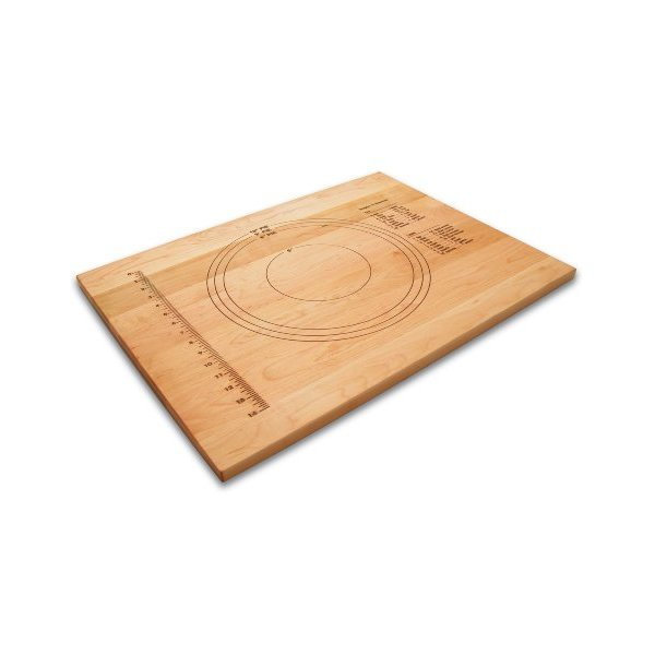 Snow River 7V03152 18-Inch by 24-Inch by 3/4-Inch Embossed Pastry Board
