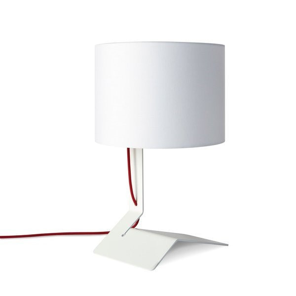 Blu Dot Bender Table Lamp, White