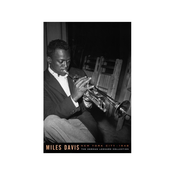 (24x36) Miles Davis Round About Midnight Music Poster Print