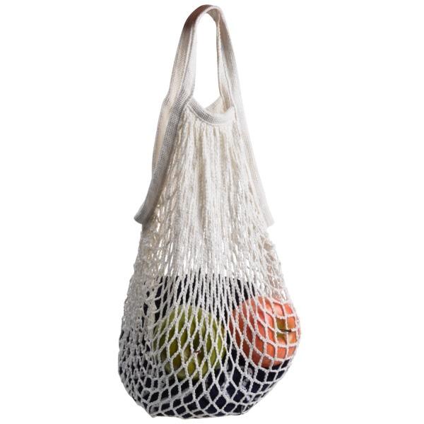 Cosmos ® Cotton Net Shopping Tote Ecology Market String Bag Organizer (White)
