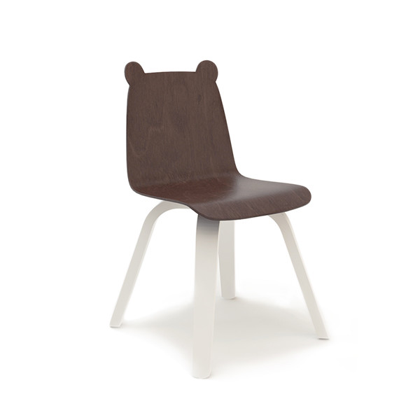 Oeuf Play Bear Chairs, Walnut (Set of Two)