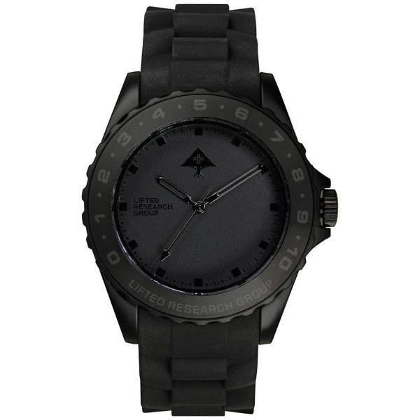 Lrg Latitude Watch Black 0