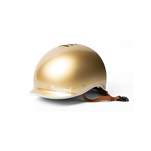 Thousand Premium Collection Helmet Stay, Gold, Medium