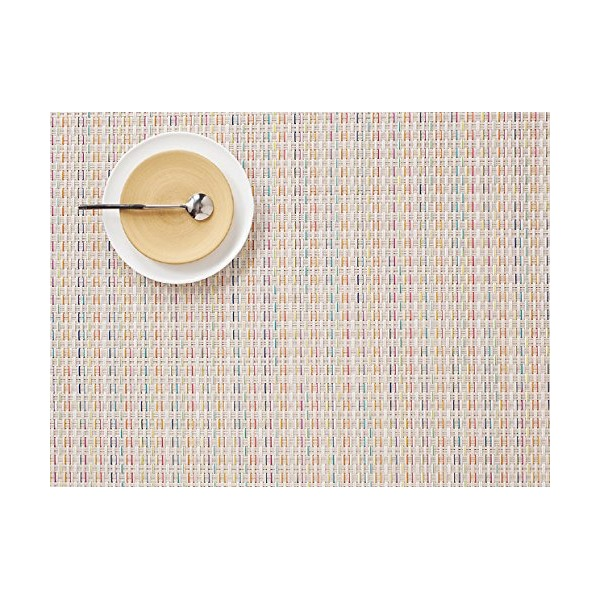 "Chilewich Wicker Placemat in Sugar 14"" X 19"" (One Piece)"