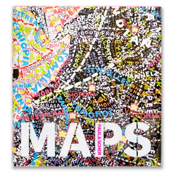 Paula Scher: MAPS [Hardcover]