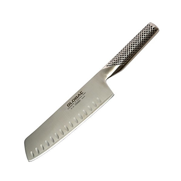 Global G-56 - 7 inch, 18cm Vegetable Hollow Ground Knife