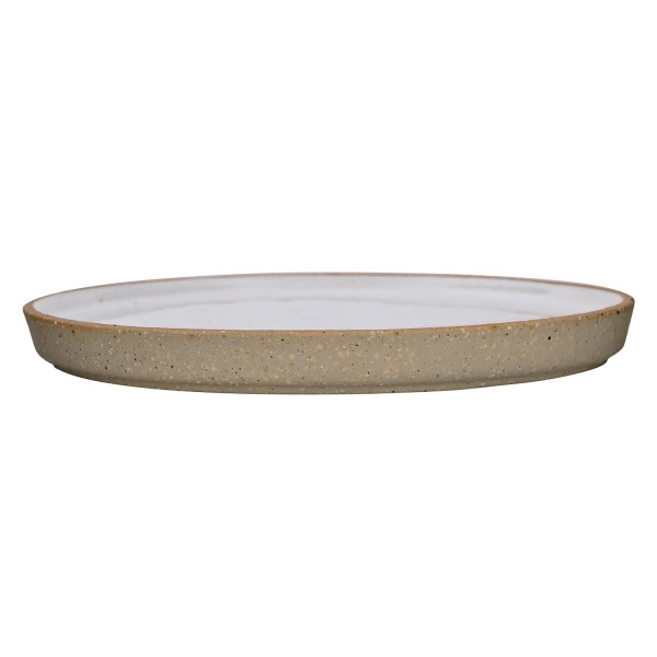 Bloomingville Ceramic Barbara Salad Plate, White