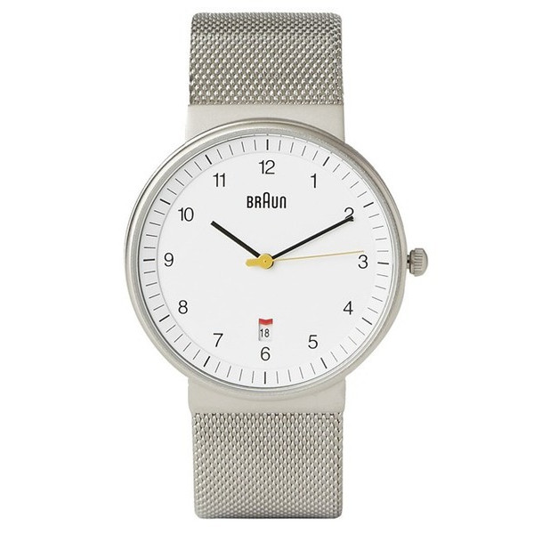 Dieter Rams Braun Men's Stainless Mesh Watch