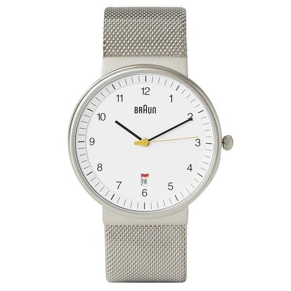 Dieter Rams Braun Men's Stainless Mesh Watch