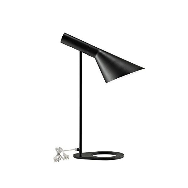LexMod EEI-1228-BLK Flashlight Table Lamp In Black