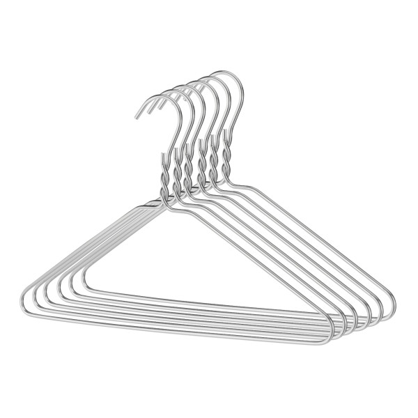 Aluminum Hangers, Set of 6