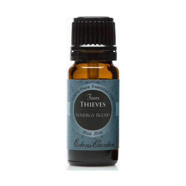 Four Thieves Synergy Blend Essential Oil- 10 ml (Comparable to DoTerra's ON GUARD blend)