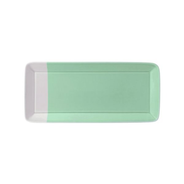 Royal Doulton 1815 Rectangular Tray, 39.5 by 18.5cm, Green