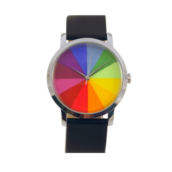 Colorwheel Twelve Watch - Black