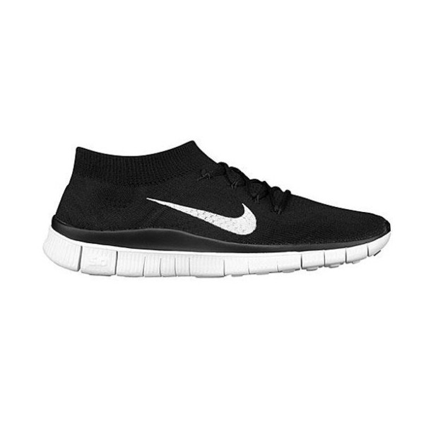 Nike Mens Free Flyknit Black/White/Anthracite