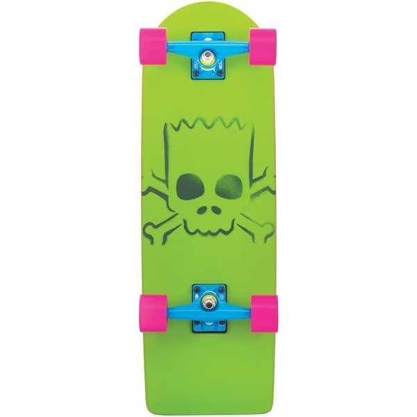 Santa Cruz Simpsons Bart Model Cruzer Skateboard