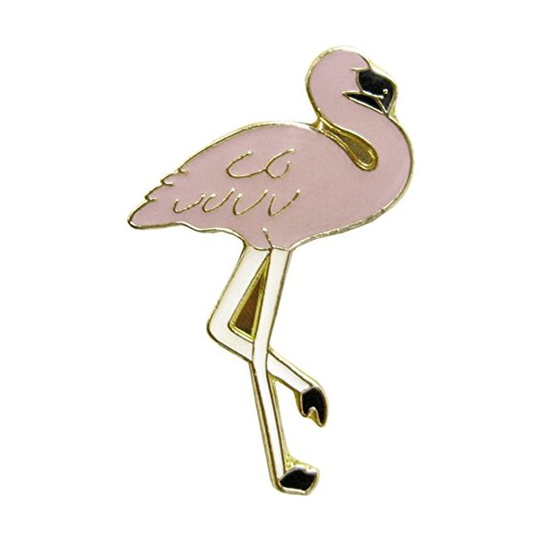 Pink Flamingo Enamel Pin