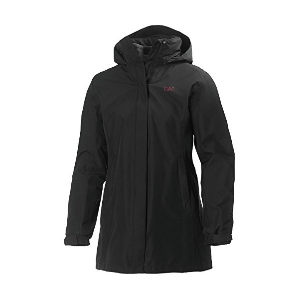 Helly Hansen Women's Aden Cis Coat, Black, X-Small