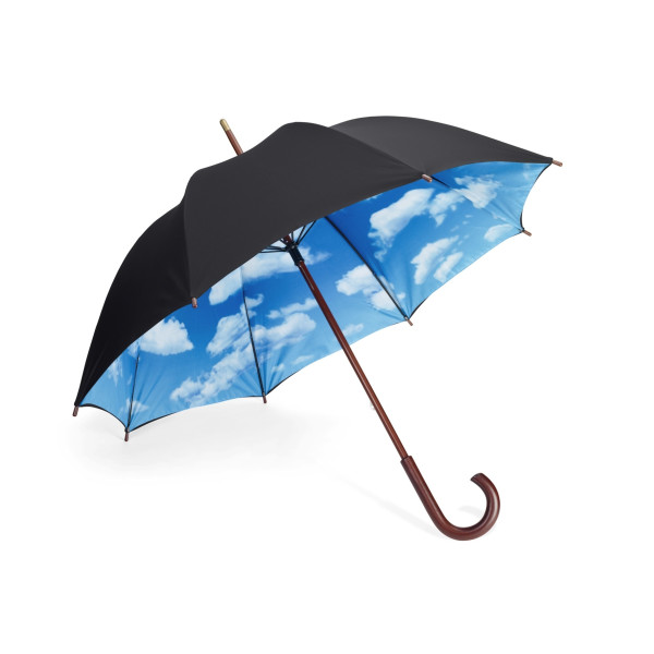 Designer Umbrella with Perfect Day Sky Print Inside