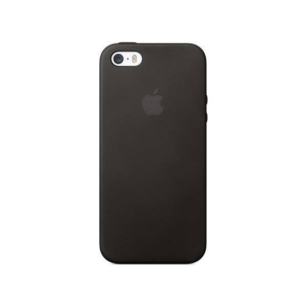 Apple iPhone 5s Black Leather Case