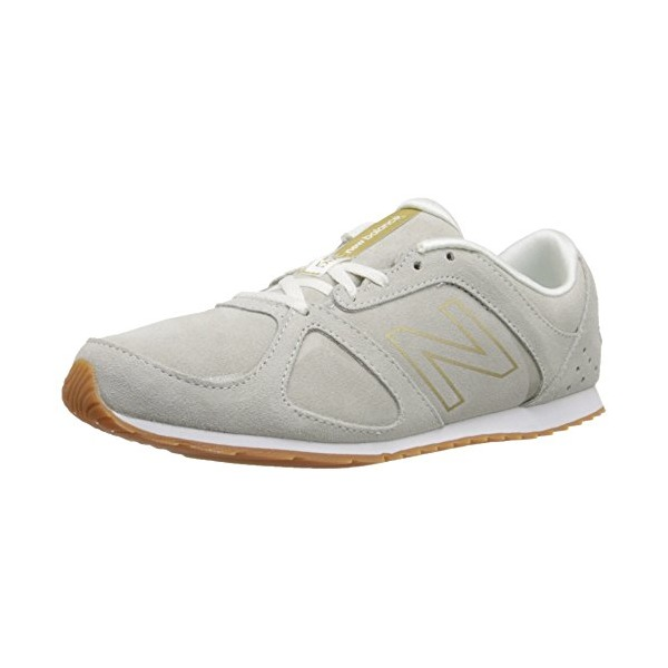 New Balance Women's WL555 Only Casual Running Shoe, Cream, 8.5 B US