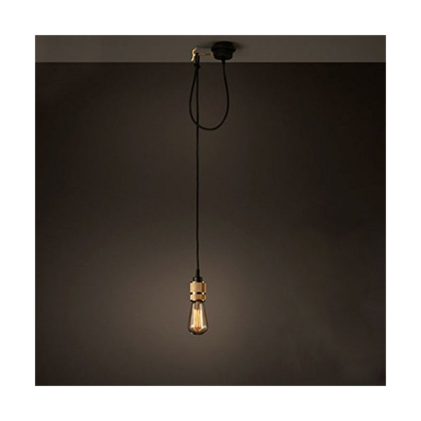 BAYCHEER HL371536 Industrial Retro Vintage style Simple 1 Light Edison Bulb Pendant Lighting