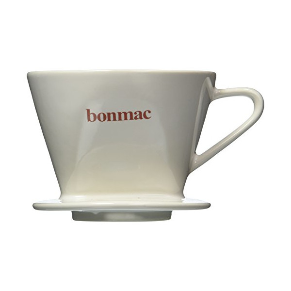 bonmac dripper white [2-4 cups] CD-2W # 813005 (japan import)