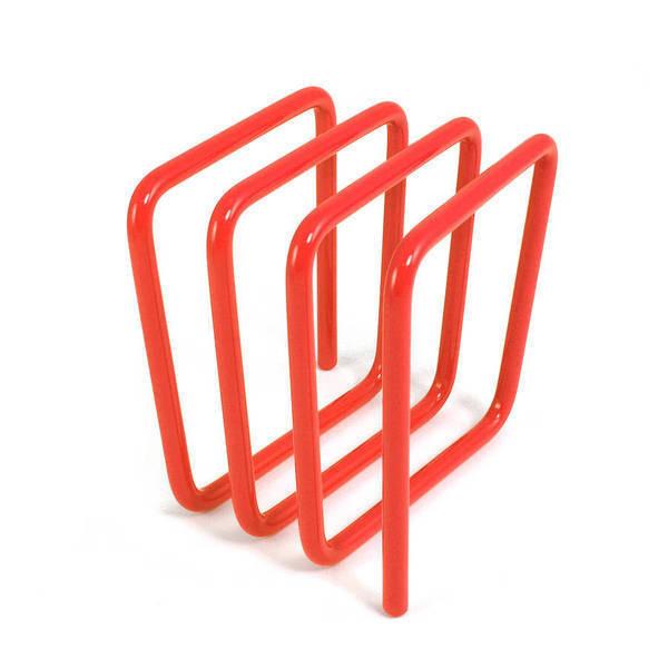 Block Letter Rack, Orange