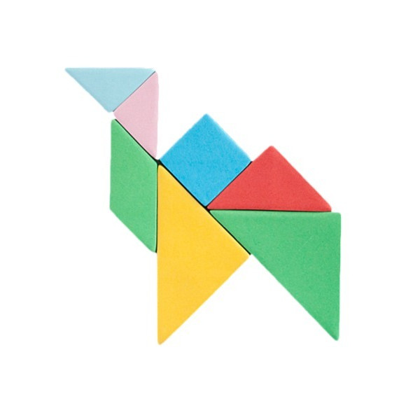 Kikkerland Tangram Sticky Notes