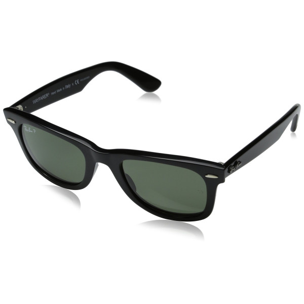 Ray-Ban Original Wayfarer Sunglasses, Black w/ Polarized Lens
