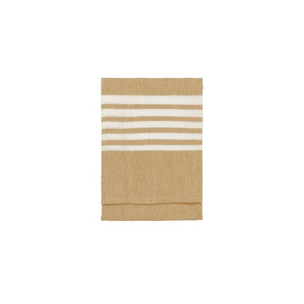 Nine Space Turkish Cotton Bali Kitchen Towel, 30 by 20-Inch, Gold