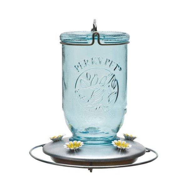 Perky-Pet Mason Jar Hummingbird Feeder