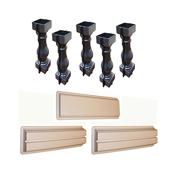 Baluster Railing Mold Set