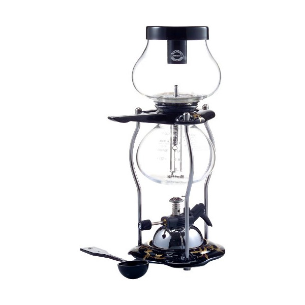 Yama Glass 5 cup Tabletop Ceramic 20oz Syphon w/Butane Burner