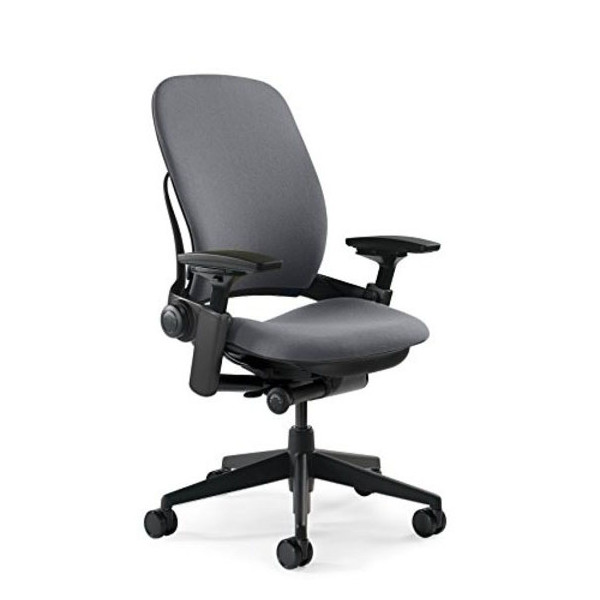 Steelcase Leap Fabric Chair, Gray
