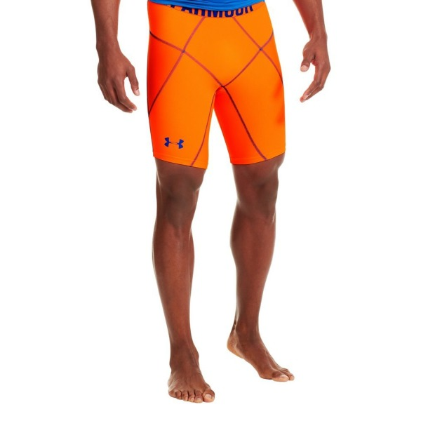 Under Armour Men's UA 9'' Coreshorts Prima Large Blaze Orange