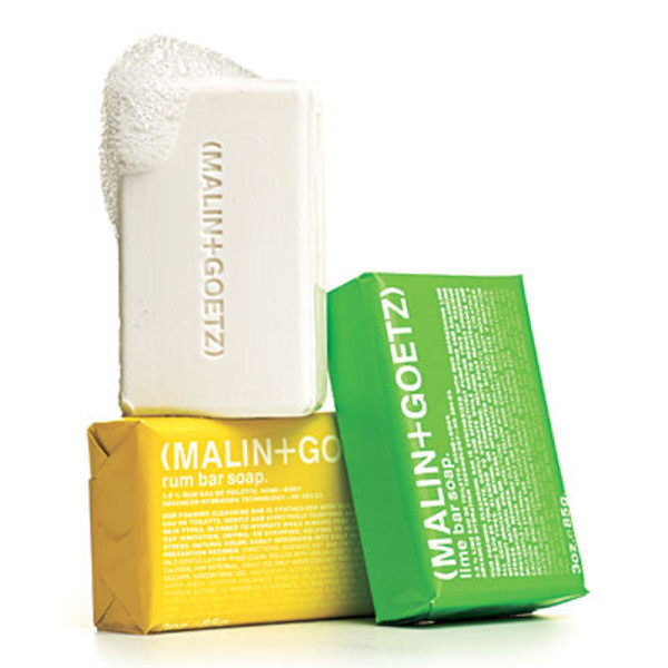 Malin + Goetz Mojito Bar Soap Set of 3