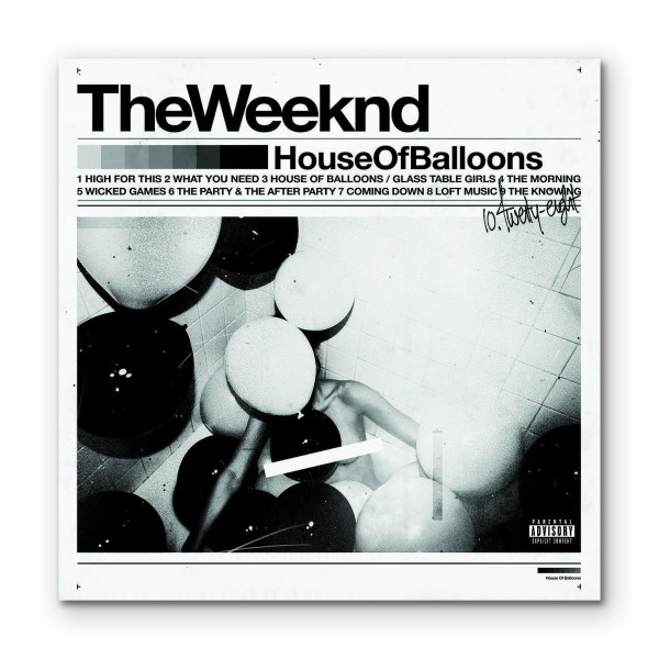 Nice House Of Balloons By The Weeknd