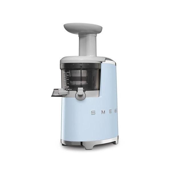 Smeg Retro Style Aesthetic Slow Juicer, Pastel Blue