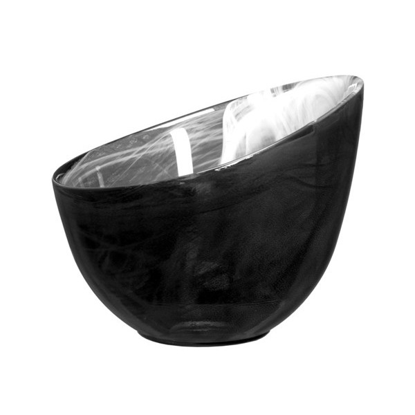 SEAglasbruk Candy Decorative Bowl, Black