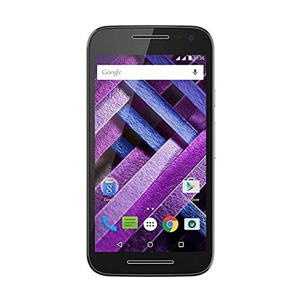 "New Motorola Moto G Turbo Edition- XT1557- Unlocked-DUAL SIM (LTE+LTE)-5"" HD- IP67 Water Resistant-1.5 GHz Octacore-2GB RAM-Black"