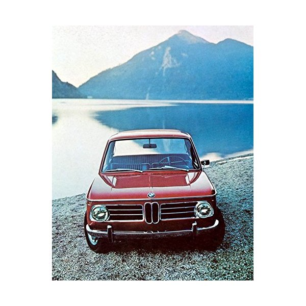 1971 BMW 2002 Factory Photo
