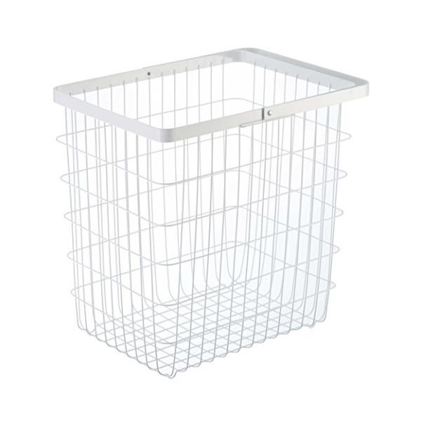 YAMAZAKI home 3162 Laundry Basket, Large, White