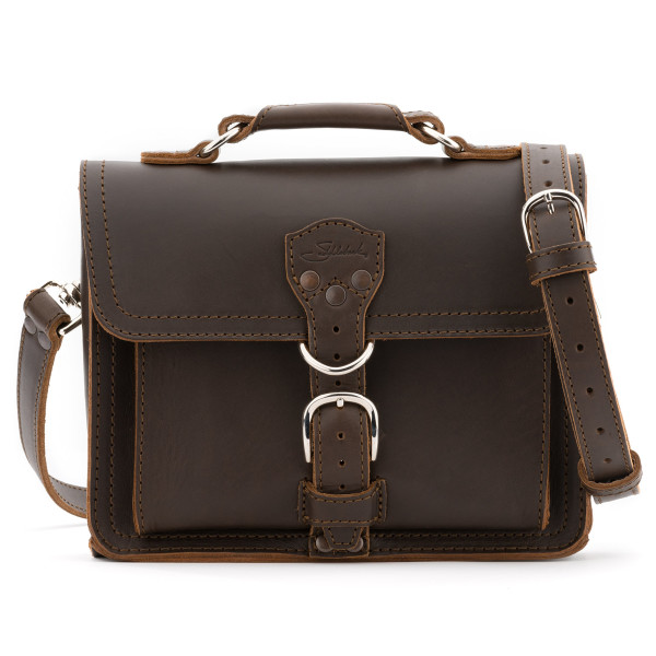 Saddleback Leather Tablet Bag, Dark Coffee Brown