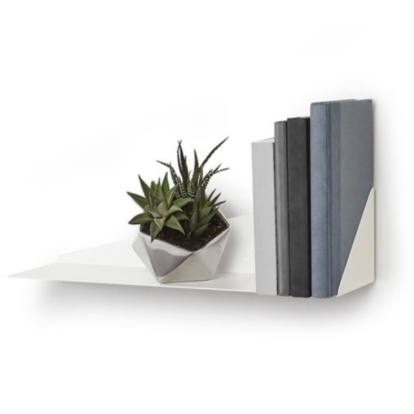 Umbra Stealth Wall Shelf, White