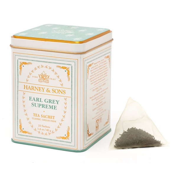 Harney & Sons Earl Grey Supreme Tea, 20 Sachets