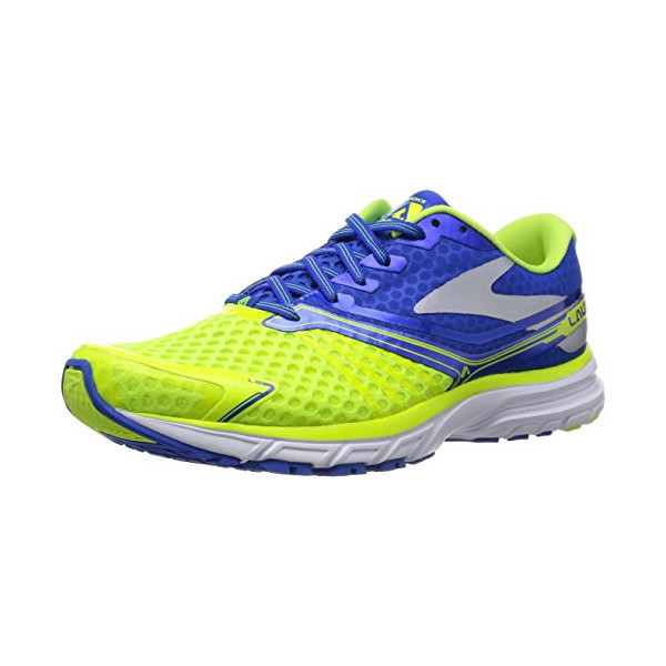 Brooks Launch 2 Men's Running Shoes 110188-1D-702 Size 9.5 D (Standard Width) Nightlife/Electric