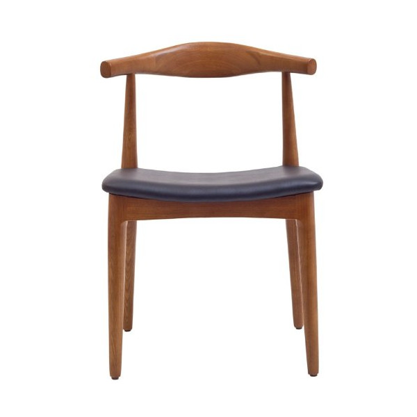 LexMod Hans Wegner Style Elbow Dining Side Chair