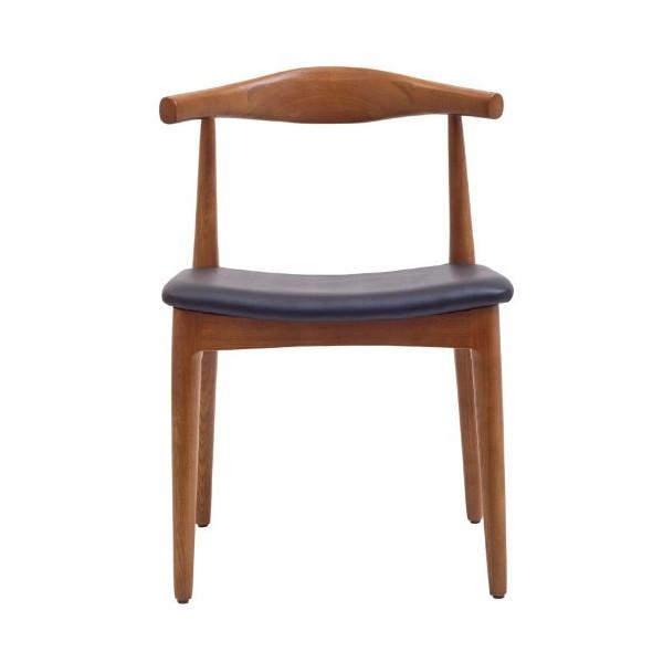 LexMod Hans Wegner Style Elbow Dining Side Chair