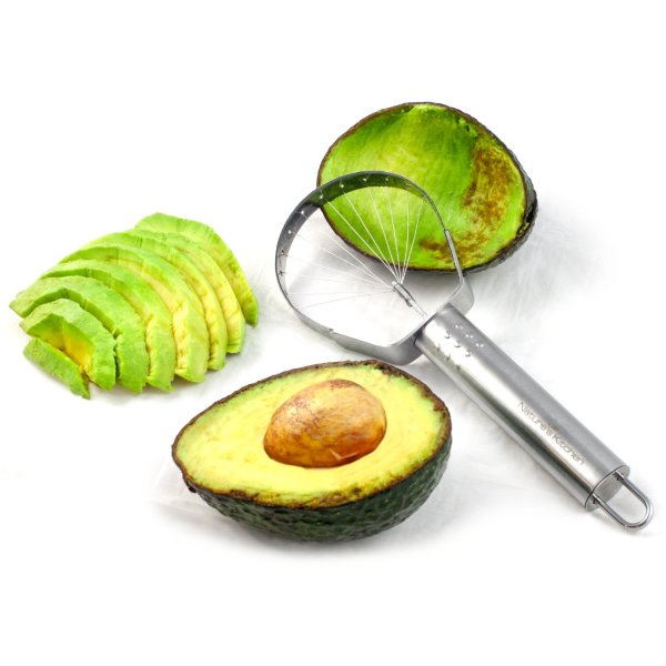 Avocado Slicer by Nature's Kitchen - Commercial Grade Stainless Steel